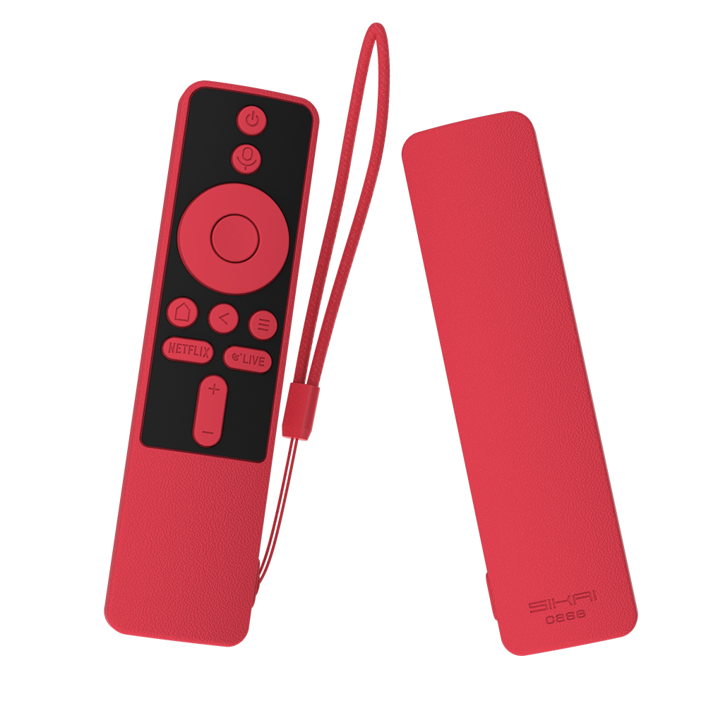 Full covers for xiaomi mi tv box s Colorful Remote Case