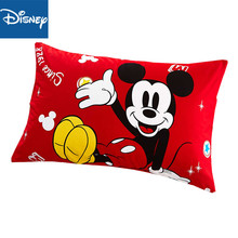 Disney Mickey and Minnie Mouse Pillowcase For Children 1 Pcs Home Textile Kidss Presents Cartoon Pillow Cover Free Shipping New