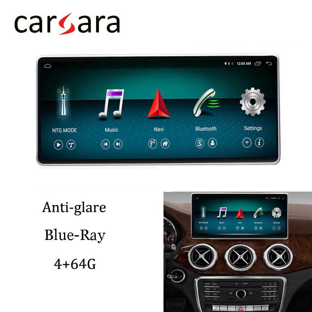 Mercedes W176 Android Stereo Navigation Anti Blau Multimedia Display DVD Player 10,25 Bildschirm