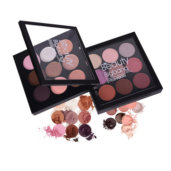 BeautyBigBang 9 Colors Eyeshadow Pallete Eyeshadow Matte Shimmer Makeup Pallete Sombras Maquiagens Cienie Do Powiek Eye Shadow