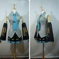 Hatsune Miku Cosplay Kostüm Japan Midi Kleid Anfänger Zukunft Miku Cosplay Weibliche Halloween frauen CostumeXXS-3XL