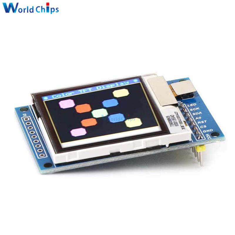 """1.6 """"인치 tft ips lcd 1.6 인치 oled 반투명 디스플레이 모듈 lcd 디스플레이 diy spi 직렬 포트 130*130 arduino 통신"""