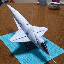 47 см Орион III космический корабль челнок DIY 3D бумажная карта модель Конструкторы строительные игрушки развивающие игрушки Военная Модель