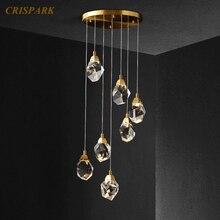 Modern Crystal Chandeliers New Design Chandeliers Lighting Home Decoration Pendant Hanging Lamp