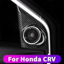 Voor Honda Crv CR-V 2017 2018 2019 Voordeur A-stijl Tweeter Speaker Frame Decoratie Gewijzigd Crv Audio Frame cover Cover Modi