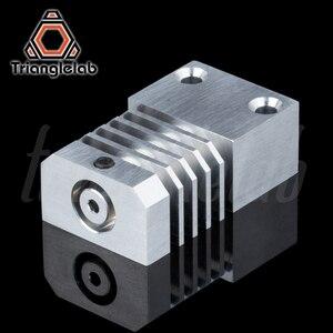 Image 5 - Trianglelab Schweizer CR10S PRO Hotend upgrade KIT Präzision aluminium Kühlkörper Titan Wärme PAUSE 3D drucker Hotend für CR 10S PRO
