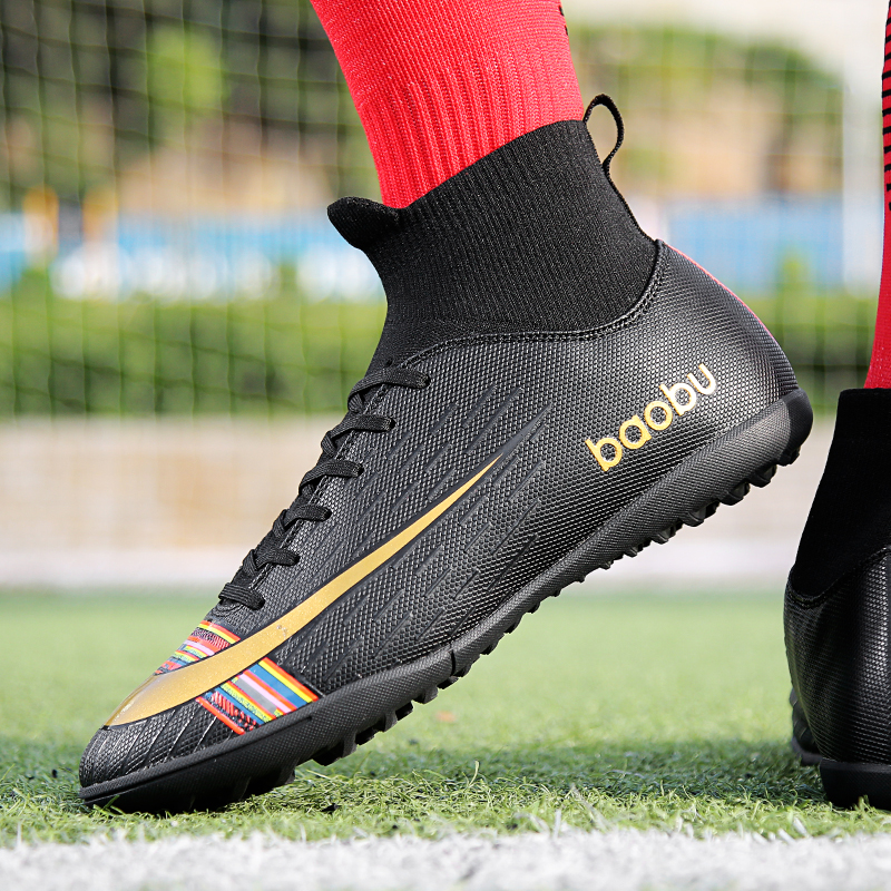 LION SCREAM Football Boots Shoes For Men Soccer Kids Indoor Sneakers FG/TF Spike Superfly Futsal Original Comfortable Waterproof