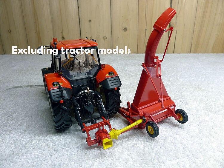 cortador de grama acessórios trator veículo agrícola modelo liga coleção modelo