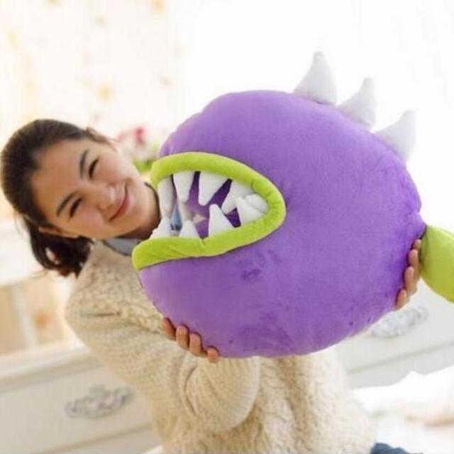 1 stücke 45cm Pflanzen vs Zombies Plüsch Spielzeug Piranha Weiche Angefüllte Plüsch Spielzeug Puppe Kissen Baby Spielzeug für Kinder geschenke Party Spielzeug