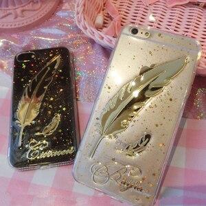 Image 5 - Уникальный 3D Блестящий чехол для телефона с именем на заказ для iPhone 11 Pro 6 7 8 Plus X Max XR Samsung Galaxy S20 S8 S9 S10 Note 20 10 9 Ultra