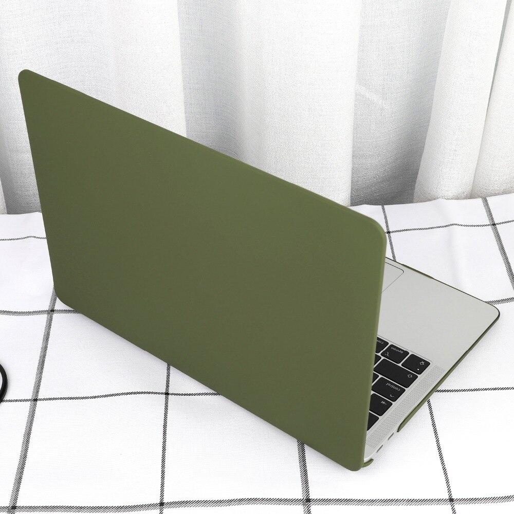 Чехол для ноутбука 4 в 1 для MacBook Air 11, 13 дюймов и Pro retina 13,3, 15,,,, кристально Матовый Жесткий чехол для клавиатуры