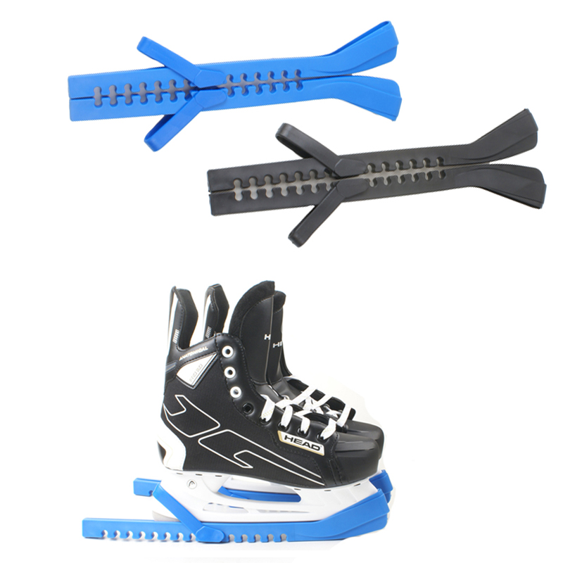 Adjustable Blade Figure Ice Hockey Speed Skating Shoes Frame Guard Rubber Protector Cover Non-slip Prevent Rust  Cold-resistant
