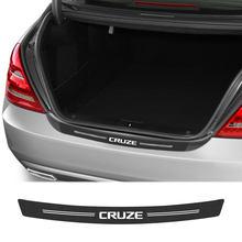 Para chevrolet cruze 1.5l 1.4t eco premier sedan fwd ls ltz 2019 nuevo 2020 acessórios do carro de fibra carbono guarda abundante tronco decalque