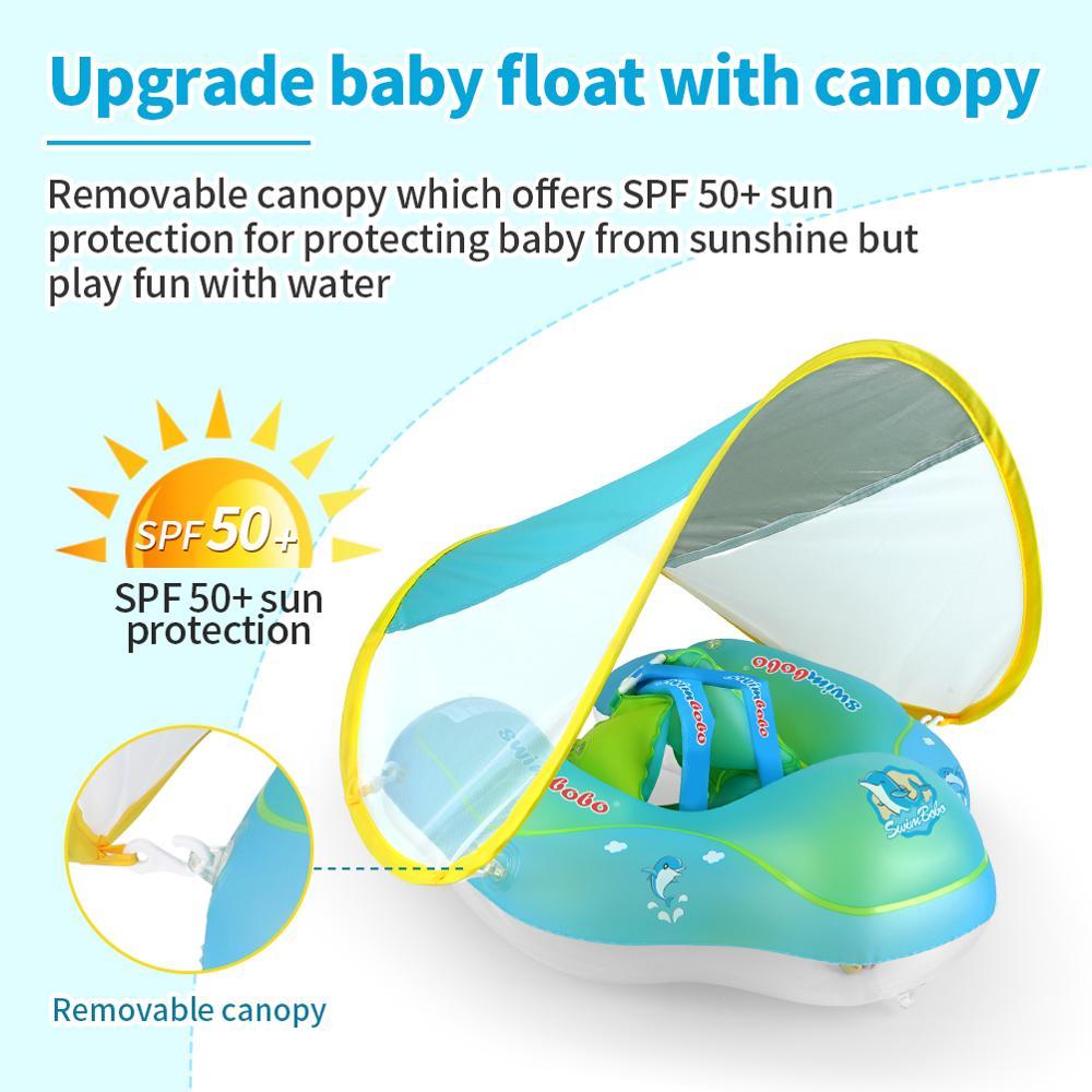 Новые обновления, детский Плавающий поплавок, надувные плавающие Аксессуары для детского бассейна, круглые летние игрушки для купания, кольца для малышей 5