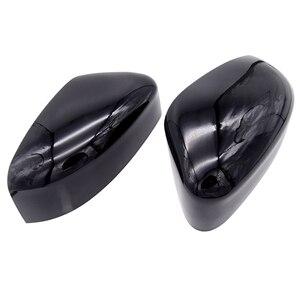 Image 5 - 1 пара левое и правое зеркало заднего вида крышка боковое зеркало оболочка аксессуары для Ford Focus 2012 2013 2014 2015 2016 автомобильный Стайлинг