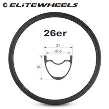 26er Xe Đạp Leo Núi Rim Sợi Carbon T700 Made hookless vành 24 mét Sâu 24 mét Chiều Rộng không săm Cho XC Tình Trạng xe đạp MTB bánh xe