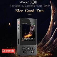 Xduoo X3II X3 II MP3 เครื่องเล่นเพลงบลูทูธ 4.0 AK4490 Hi Fi Audioเครื่องเล่นMp 3 Dsd Mini Mp3 ถอดรหัสเครื่องเล่นสำหรับรองรับ 256GB