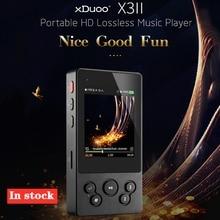 Xduoo X3II X3 II MP3 del Giocatore di Musica di bluetooth 4.0 AK4490 Hi Fi Audio Mp 3 Player Dsd Mini Mp3 Decoder I giocatori per il Supporto 256GB