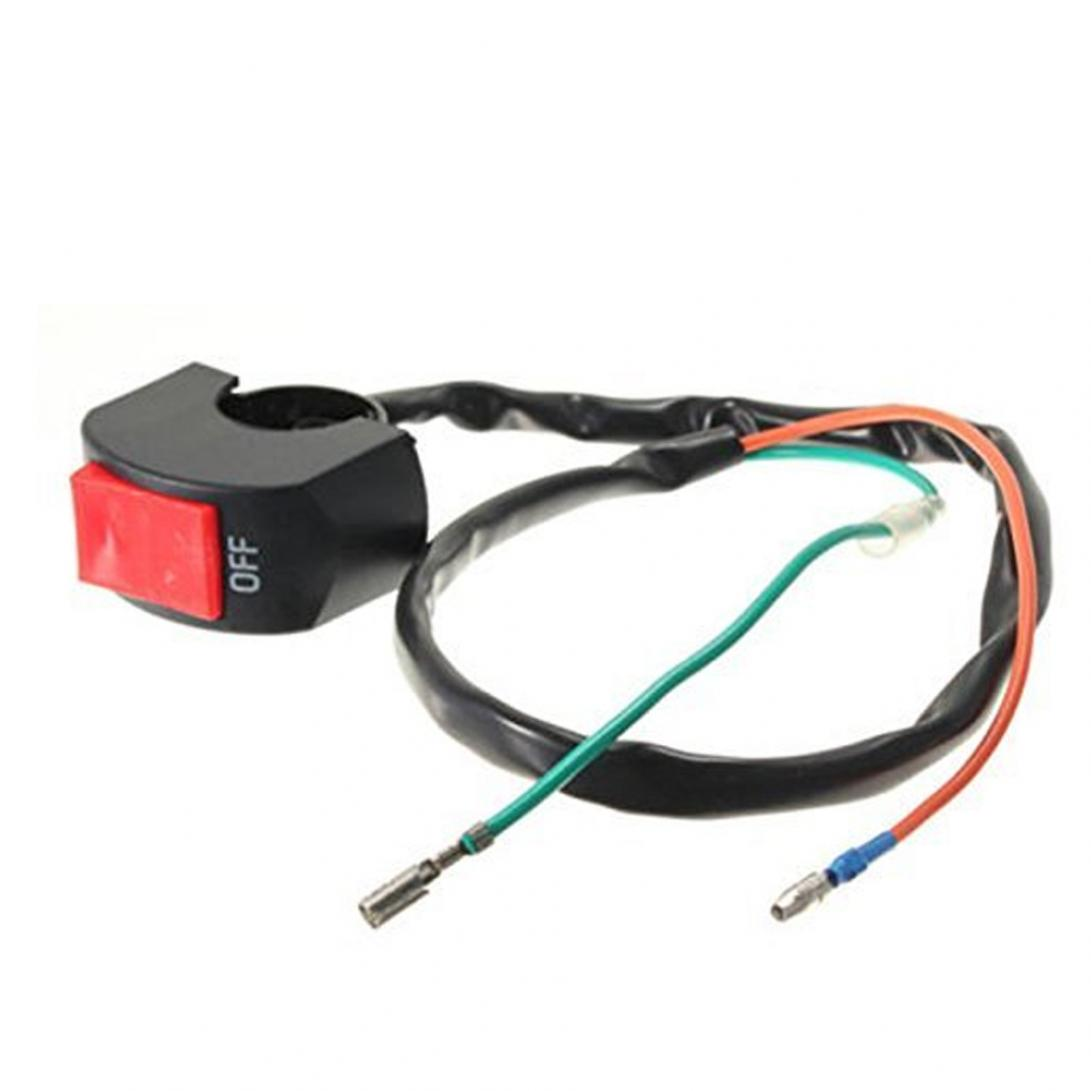Motorcycle 7/8 Inch Universal Handlebar Mounting Switch DC 12V For Motorbike Fog Lamp Head Light Electrical System