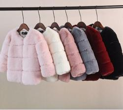 Children Down Jacket Winter New Hooded Thicker Warm Outwear Nature Big Fur Collar Modis Kids Down Jacket For Cold Weather
