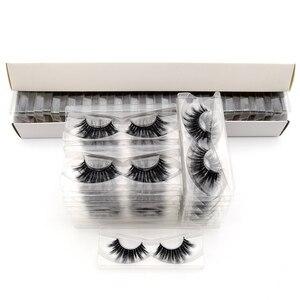 Image 5 - 30Pairs Visofree Eyelashes 3D Mink Hair False Eyelashes Vegan Cruelty Free Natural Thick Long Eye Lashes Makeup Beauty Extension