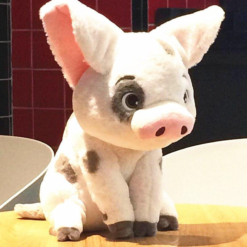 45CM original Moana Pet Pig Pua Stuffed Animals Cute Cartoon Plush Toy Dolls Kids Movie Collection Toys