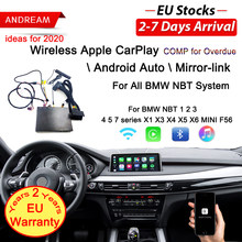 Wireless Apple CarPlay Android Auto für BMW NBT F10 F20 F30 X1 X3 X4 X5 X6 F48 F25 F26 F15 f56 MINI Series1 2 3 4 5 6 7 Air spielen(China)