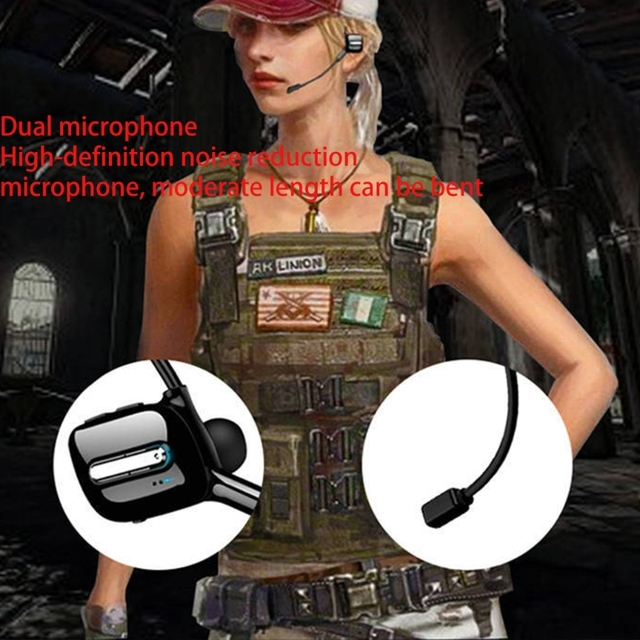 ALLOET Good Experience Wireless Headphones Bluetooth Earphone Neckband Earbuds Game Headset with Microphone for PUBG Gam 5