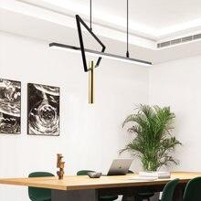 Nordic modern restaurant chandeliers minimalist designer creative