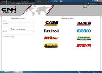 ETimGo pour CNH EST toutes les marques hors ligne manuel de réparation [07/2020]+ HDD160GB