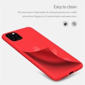 Image 2 - Nillkin capa para iphone 11 pro max caso de borracha envolvido tpu caso protetor do telefone capa traseira para iphone 11 pro para iphone11 caso