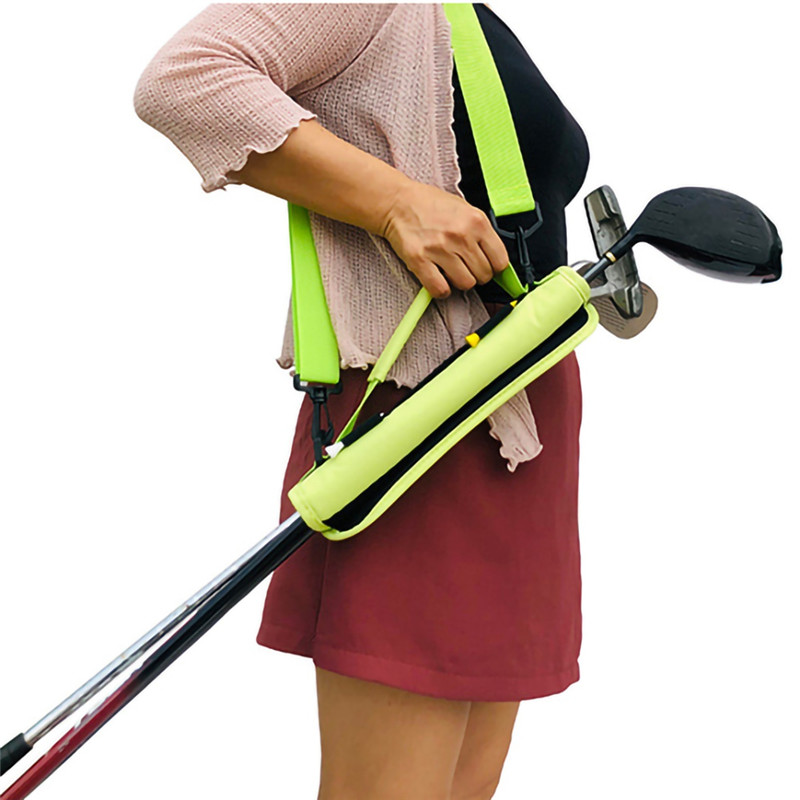 1PC Golf Club Carrier Driving Range Gfit Travel Bag For Children Men Wome