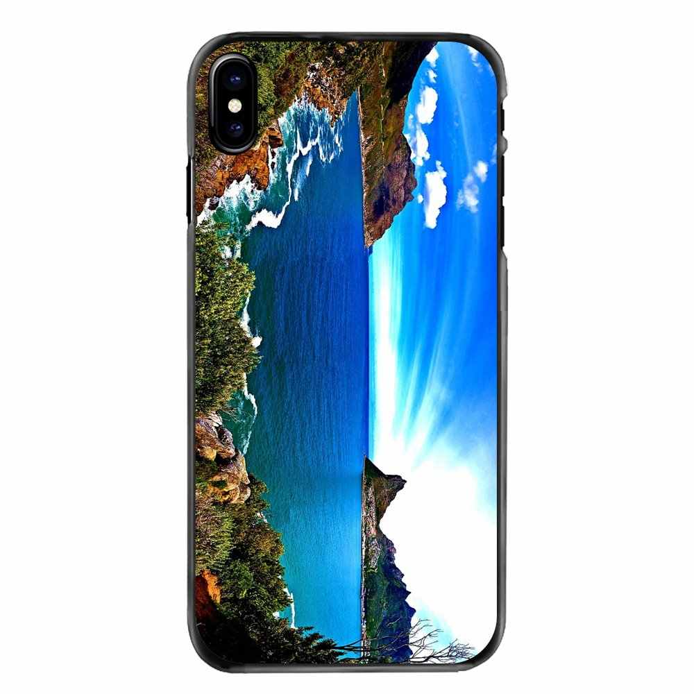 Ocean Bay Rocky Beach Wallpaper For Iphone 11 Pro Ipod Touch 4 4s 5 5s 5c Se 6 6s 7 8 Plus X Xr Xs Max Accessories Phone Covers Half Wrapped Cases Aliexpress