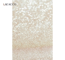 Laeacco Photo Backdrop Glitter Polka Dot Light Bokeh Wedding Birthday Party Child Love Photo Backgrounds Photophone Photo Studio