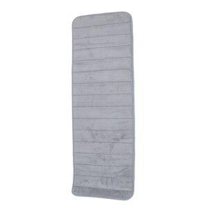 120x40 см абсорбирующий нескользящий пенопласт для кухни, спальни, двери, напольный коврик, ковер, серый