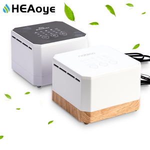 Negative Ion Generator Air Purifier For Home office Active Carbon HEPA Filter Desktop Mini Air Ionizer Compact Air Cleaner(China)