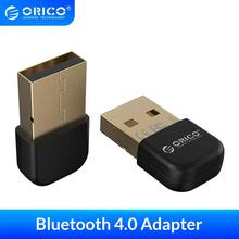 ORICO USB Wireless Bluetooth Adapter Dongle 4.0 Bluetooth Music Audio Receiver Transmitter for PC Computer  Wireless Mouse