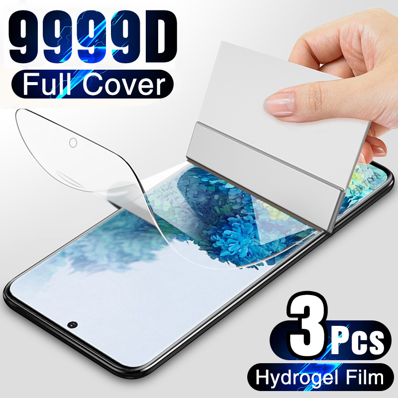 Screen-Protector Hydrogel-Film S6-Edge Note 20 Plus Samsung Galaxy on for S10-s20/S9/S8/..