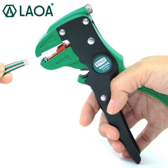 LAOA High Quality Wire Stripper Pliers Multifunction Duck Pliers Specialty Wire Stripper Tools Made in Taiwan