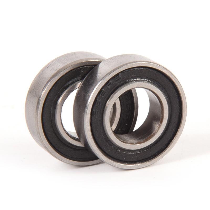 10pcs <font><b>688</b></font>-2RS Mini Bearing 8*16*5mm <font><b>688</b></font> <font><b>RS</b></font> Rubber Sealed Ball Bearing Durable Miniature Bearings image