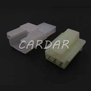 1 Set 3 Pin 6090-1131 6090-1136 Auto Wire Connector Electrical Socket For Wiring Harness image