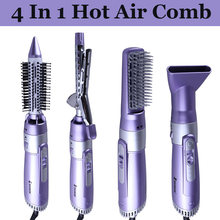 Профессиональный фен для волос электрическая плойка расческа