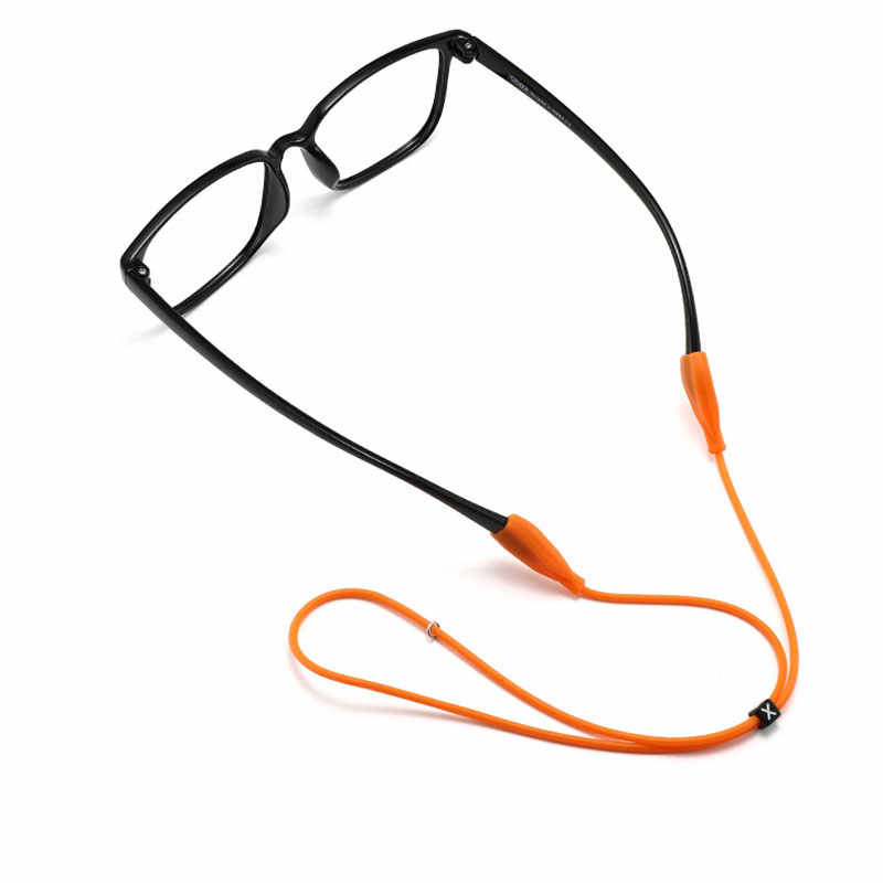 Milifeel Comfortable Candy Color Sports Anti-slip Durable Eye Wear Accessories Glasses Chain Eyeglass Lanyard Sun glasses Rope