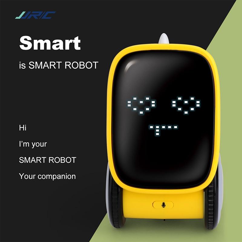 JJR/C R16 Smart Robot IR Gesture Voice Control Robo Dancing expression Change Intelligent Robots Toys for Kids