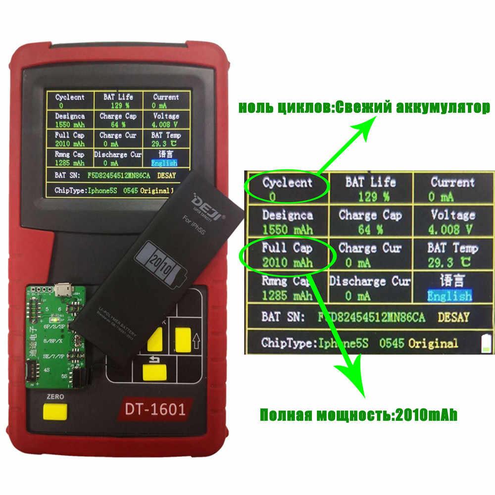 Deji Voor Iphone 6 S Batterij 5 S Se 6 7 8 X Batterij Hoge Capaciteit Interne Batterijen Vervanging Originele lithium Batterij Gereedschap Kit