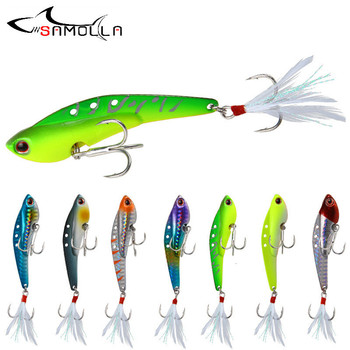 цена Jig Fishing Lure Bait Metal Vib Bass Fishing Tackle Weights 20-40g Jigging Lure Jigs Topwater Lure Saltwater Lures Trolling Lure онлайн в 2017 году