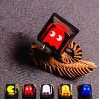 Pac Man Resin Keycap Handmade DSA Pac Man Artisan Key Cap Keycaps For Cherry MX Mechanical Gaming Keyboard
