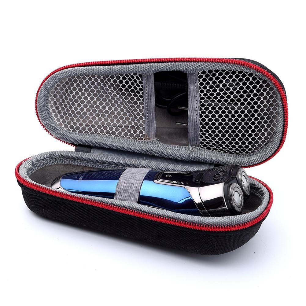 Saco de armazenamento de barbear eva caso de transporte saco de proteção para braun série 3, 3040s 3010bt 3020 3030s 300s série 5 5030s 5147s 790cc