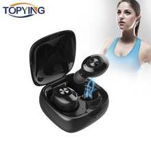 TOPYING XG12 TWS 5.0 Bluetooth Earbus Stereo Wireless bluetooth Earphone Handsfree Gaming Sport Headphones Charging Box