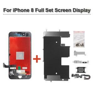 Image 4 - AAAA + + + pour iPhone 5S SE 6s 6S Plus 7 8 Plus écran LCD avec 3D force numériseur écran tactile ensemble complet affichage dassemblage avec cadeau